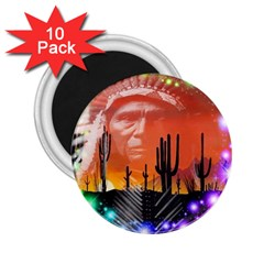 Ghost Dance 2 25  Button Magnet (10 Pack) by icarusismartdesigns