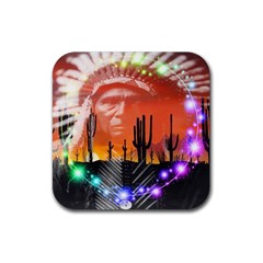 Ghost Dance Drink Coasters 4 Pack (square) by icarusismartdesigns