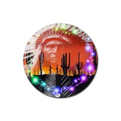 Ghost Dance Drink Coasters 4 Pack (round) by icarusismartdesigns