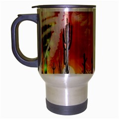 Ghost Dance Travel Mug (silver Gray)