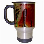 Ghost Dance Travel Mug (Silver Gray) Left