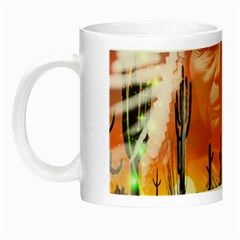 Ghost Dance Glow In The Dark Mug by icarusismartdesigns