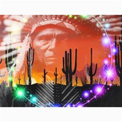 Ghost Dance Canvas 12  X 16  (unframed) by icarusismartdesigns