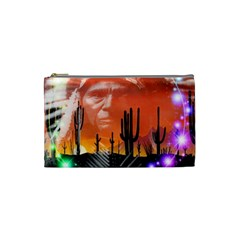 Ghost Dance Cosmetic Bag (small) by icarusismartdesigns