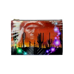 Ghost Dance Cosmetic Bag (medium) by icarusismartdesigns