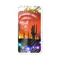 Ghost Dance Apple Iphone 4 Case (white) by icarusismartdesigns