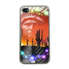 Ghost Dance Apple Iphone 4 Case (clear) by icarusismartdesigns