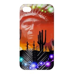 Ghost Dance Apple Iphone 4/4s Premium Hardshell Case by icarusismartdesigns