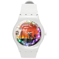 Ghost Dance Plastic Sport Watch (medium) by icarusismartdesigns