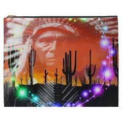 Ghost Dance Cosmetic Bag (xxxl) by icarusismartdesigns