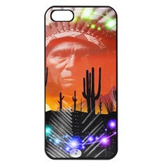 Ghost Dance Apple Iphone 5 Seamless Case (black) by icarusismartdesigns