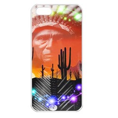 Ghost Dance Apple Iphone 5 Seamless Case (white) by icarusismartdesigns