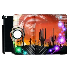 Ghost Dance Apple Ipad 2 Flip 360 Case by icarusismartdesigns