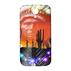 Ghost Dance Samsung Galaxy S4 I9500/i9505  Hardshell Back Case by icarusismartdesigns