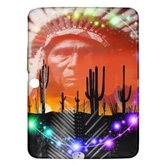 Ghost Dance Samsung Galaxy Tab 3 (10 1 ) P5200 Hardshell Case  by icarusismartdesigns