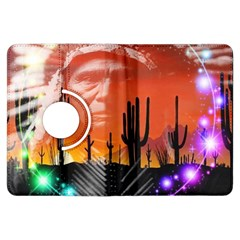 Ghost Dance Kindle Fire Hdx Flip 360 Case by icarusismartdesigns