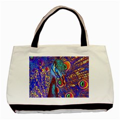 Peacock Classic Tote Bag by icarusismartdesigns