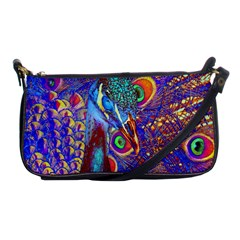 Peacock Evening Bag by icarusismartdesigns