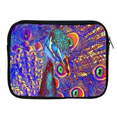 Peacock Apple Ipad Zippered Sleeve by icarusismartdesigns