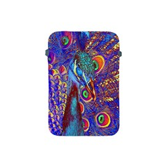 Peacock Apple Ipad Mini Protective Sleeve by icarusismartdesigns