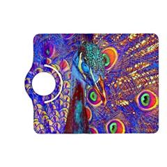 Peacock Kindle Fire Hd (2013) Flip 360 Case by icarusismartdesigns
