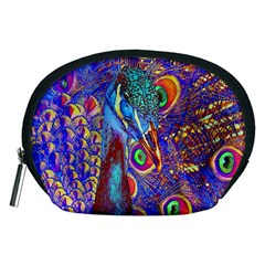Peacock Accessory Pouch (medium) by icarusismartdesigns