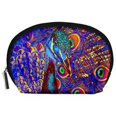 Peacock Accessory Pouch (large) by icarusismartdesigns