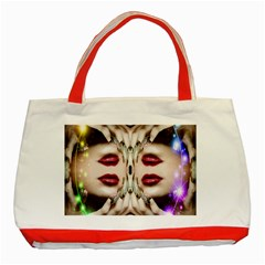 Magic Spell Classic Tote Bag (red) by icarusismartdesigns