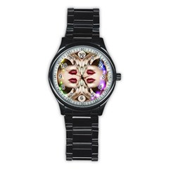 Magic Spell Sport Metal Watch (black) by icarusismartdesigns