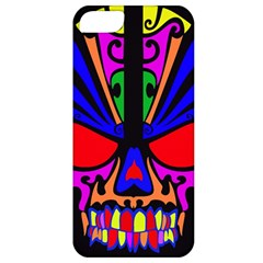 Skull In Colour Apple Iphone 5 Classic Hardshell Case by icarusismartdesigns