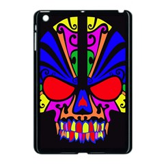 Skull In Colour Apple Ipad Mini Case (black) by icarusismartdesigns