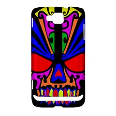 Skull In Colour Samsung Ativ S i8750 Hardshell Case by icarusismartdesigns