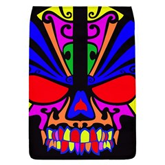 Skull In Colour Removable Flap Cover (small) by icarusismartdesigns