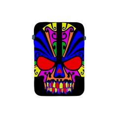 Skull In Colour Apple Ipad Mini Protective Sleeve by icarusismartdesigns