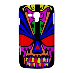 Skull In Colour Samsung Galaxy Duos I8262 Hardshell Case  by icarusismartdesigns