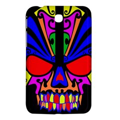 Skull In Colour Samsung Galaxy Tab 3 (7 ) P3200 Hardshell Case  by icarusismartdesigns