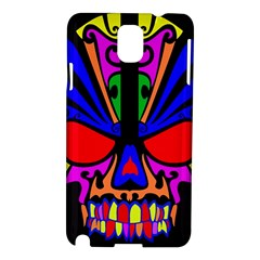 Skull In Colour Samsung Galaxy Note 3 N9005 Hardshell Case by icarusismartdesigns