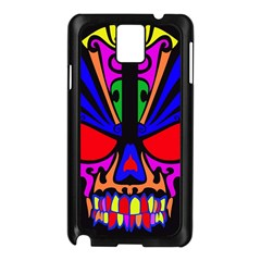 Skull In Colour Samsung Galaxy Note 3 N9005 Case (black) by icarusismartdesigns