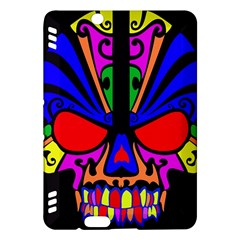 Skull In Colour Kindle Fire Hdx Hardshell Case by icarusismartdesigns