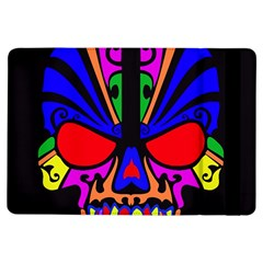 Skull In Colour Apple iPad Air Flip Case by icarusismartdesigns