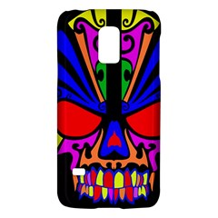 Skull In Colour Samsung Galaxy S5 Mini Hardshell Case  by icarusismartdesigns