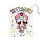 super sonico drawstring L - Drawstring Pouch (Large)