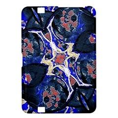 Decorative Retro Floral Print Kindle Fire Hd 8 9  Hardshell Case by dflcprints