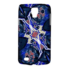 Decorative Retro Floral Print Samsung Galaxy S4 Active (i9295) Hardshell Case by dflcprints