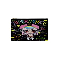 Super Sonico Small Bag Black By Oniryusei   Cosmetic Bag (small)   Zgmguz6pzynk   Www Artscow Com Front
