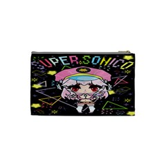 Super Sonico Small Bag Black By Oniryusei   Cosmetic Bag (small)   Zgmguz6pzynk   Www Artscow Com Back
