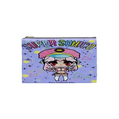 Super Sonico Small Bag Lav By Ichigo Kuriimu Ryusei   Cosmetic Bag (small)   P6d5bauta0sg   Www Artscow Com Front