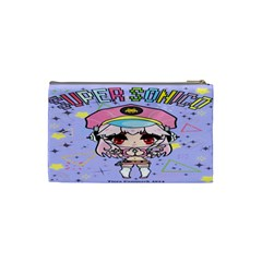 Super Sonico Small Bag Lav By Ichigo Kuriimu Ryusei   Cosmetic Bag (small)   P6d5bauta0sg   Www Artscow Com Back