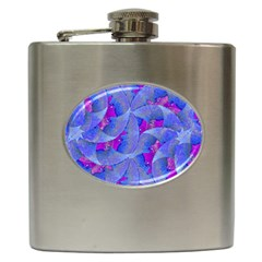 Abstract Deco Digital Art Pattern Hip Flask by dflcprints