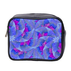Abstract Deco Digital Art Pattern Mini Travel Toiletry Bag (two Sides) by dflcprints